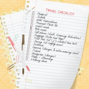 Safe Travel Guide - Travel Checklist