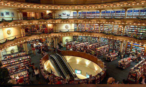 Buenos Aires city book store