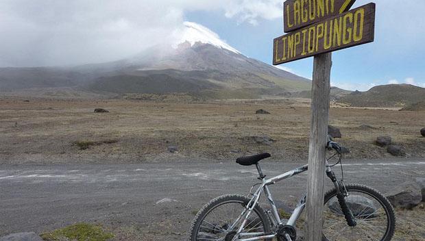 Cotopaxi Volcan Road, Ecuador