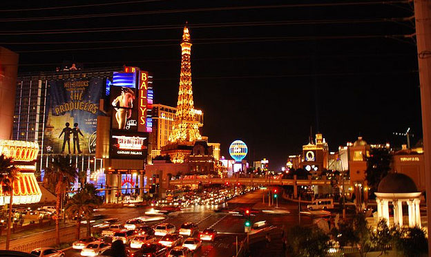 Las Vegas City strip