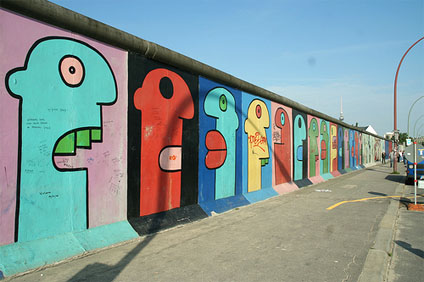 Berlin's Most Famous Landmarks - Berlin Wall