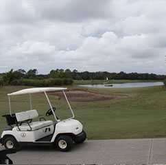 Golf course in Longboat Key