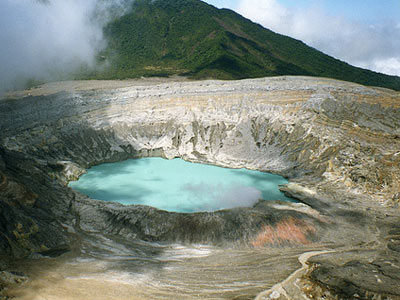 Costa Rica`s Poas Volcano National Park