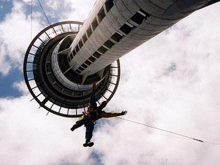 Sky Jump in Auckland
