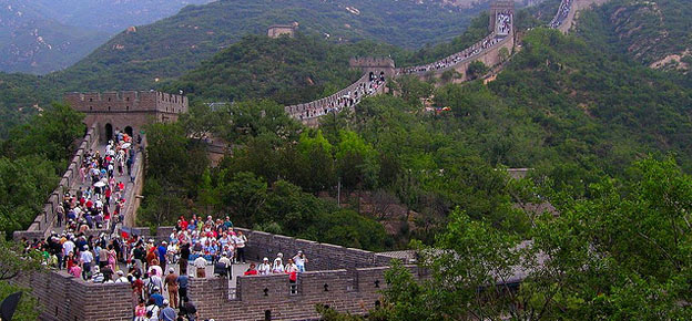 Students on a Real Adventure at the Great Wall of China
