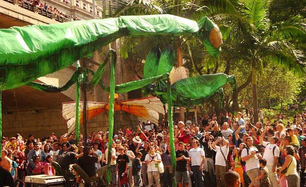 Sao Paulo City festival