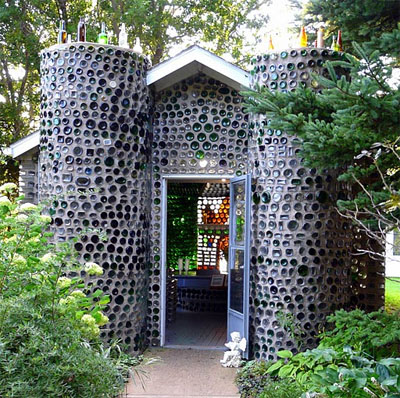 The Bottle Houses in Canada