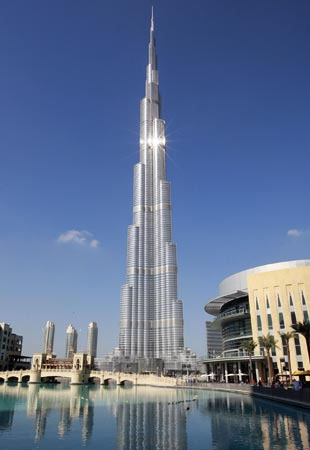 Burj Khalifa, one of the top things to do in Dubai