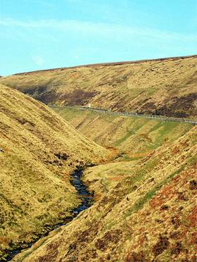 Classic British Driving Roads - snake pass english peak district