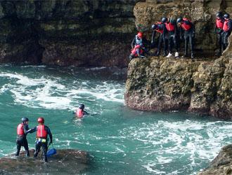 coasteering-jurassic-coast-dorset