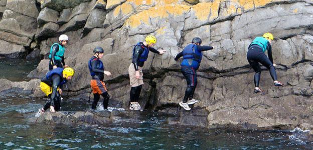 coasteering-pembrokeshire-wales