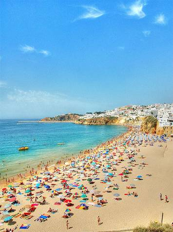 Albufeira Beach Portugal - Sun, Sand and Sea