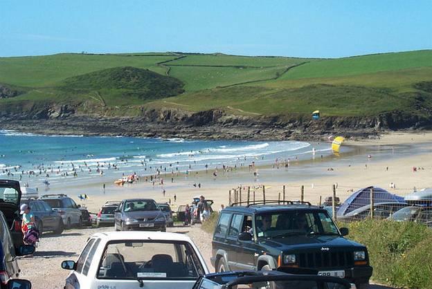 A weekend in Cornwall - Polzeath Beach 2015
