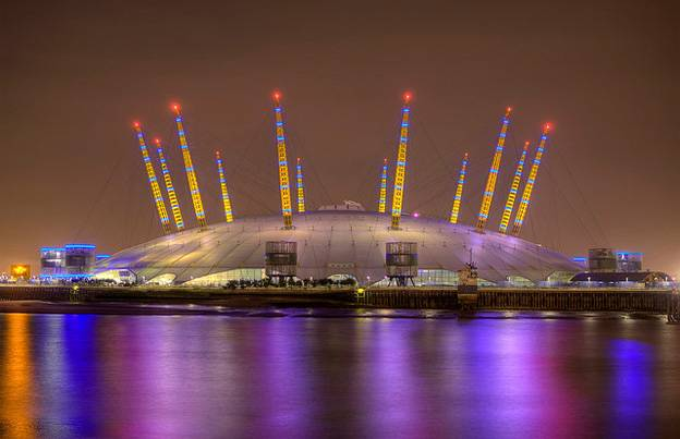Olympic Venues in London - North Greenwich Arena
