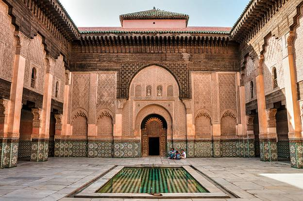 Things To Do In Marrakesh - Ali Ben Youssef Madrasa Marrakesh Morocco