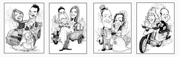 Wedding Caricaturist Artist