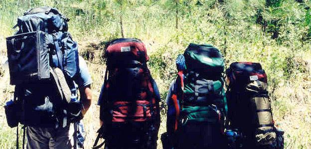 Backpacking checklist so you don't forget anything