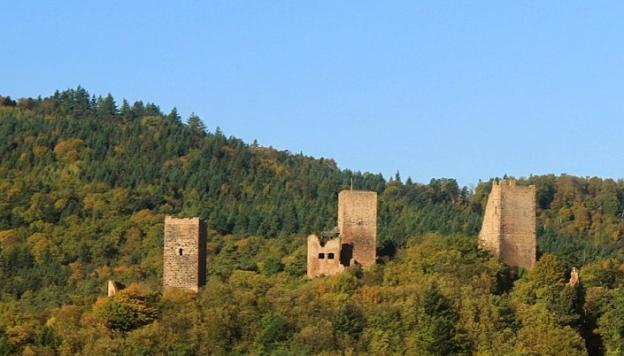 Eguisheim castle