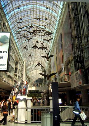 Picking a Hotel in Toronto - Eaton center
