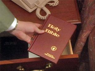 Is it a sin to steal a Bible from a hotel room - Gideons bible