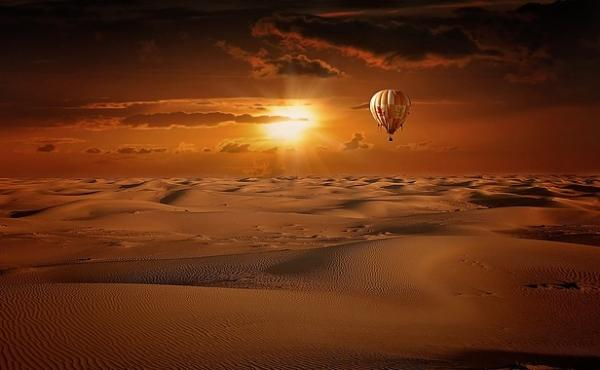 Activities in Dubai -  Hot Air Balloon Rides in Dubai