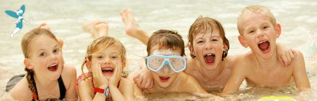 Kids happy on holiday - Don`t get struck down on your holiday