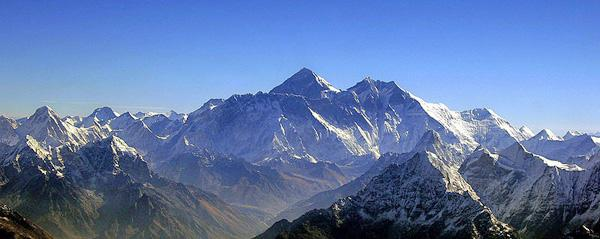Mount Everest is the most beautiful place on earth