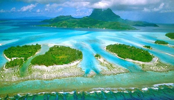 Bora Bora, Polynesia the most beautiful place on earth