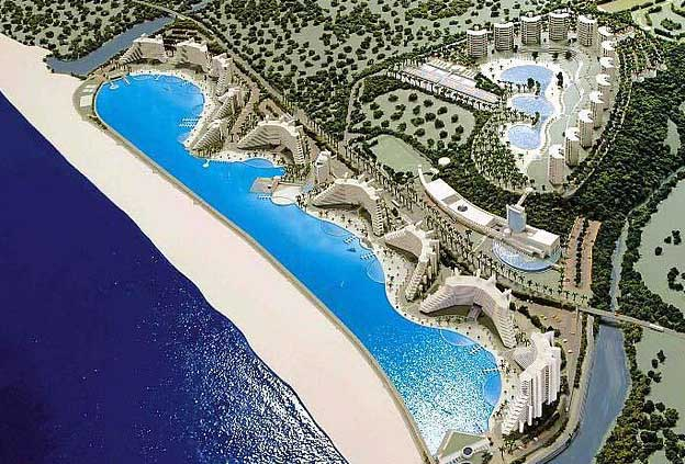 Swimming Pools: San Alfonso del Mar. Algarrobo, Chile