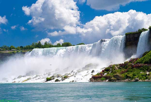 Niagara Falls is around two hours away from Toronto