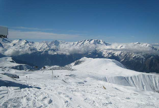Ski Resorts in France - Brides Les Bains