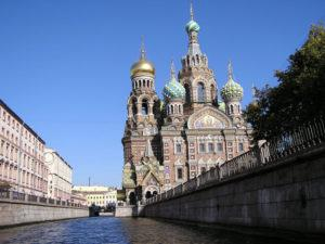 """Attractions in St. Petersburg - Church of """"Our Saviour on the Spilt Blood"""