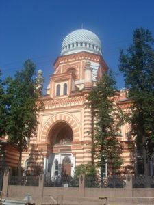 Attractions in St. Petersburg - Grand Choral Synagogue