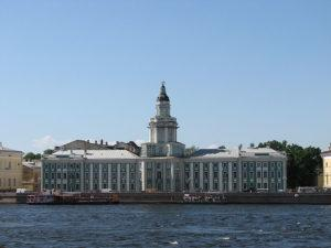 Attractions in St. Petersburg - Chamber of Curiosities (Kunstkamera)