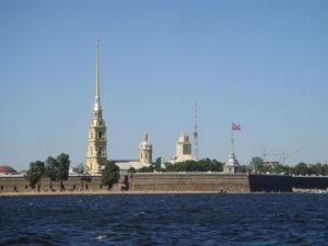 Attractions in St. Petersburg -  Peter and Paul Fortress