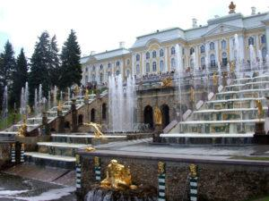 Attractions in St. Petersburg - Peterhof