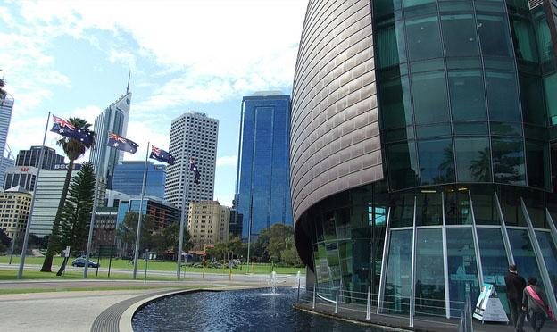 Perth city centre