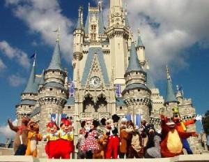 Most Visited Tourist Destinations - Disneyland Park California