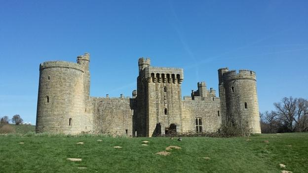 Holidaying in the UK - Bodiam Castle