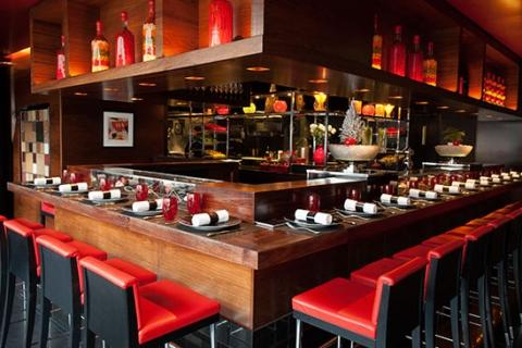 L'Atelier de Joel Robuchon at the Four Seasons Hotel