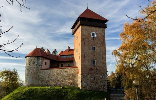castle in Croatia