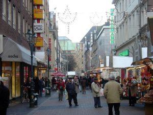 Düsseldorf shopping steet