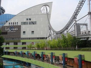 Best Roller Coasters in the World - Thunder Dolphin, LaQua Amusement Park, Japan