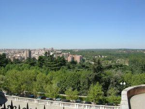 Romance of Madrid at parks
