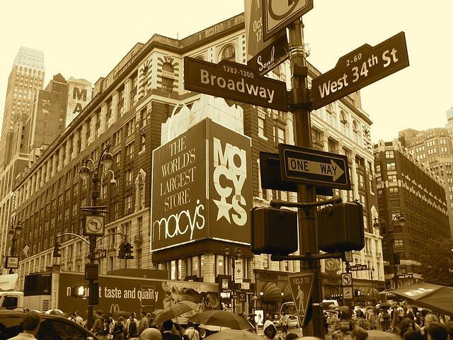 New York shopping breaks holiday
