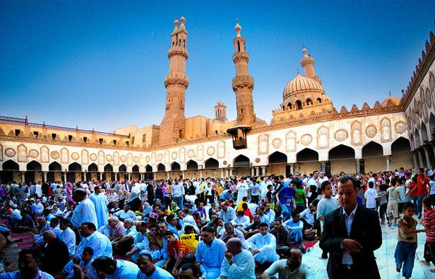 Al-Azhar Mosque at Cairo City