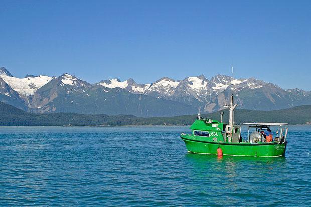 The long summer days in Alaska