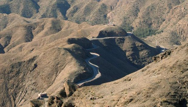 Atlas Mountains Road, Morocco