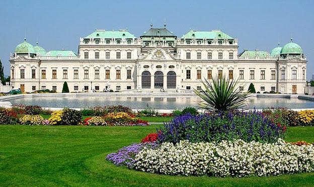 Belvedere Vienna city