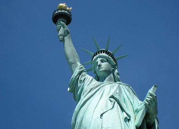 Statue of Liberty in the New York City